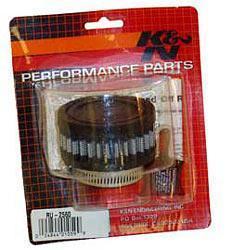 K&N Universalluftfilter, 48mm Flansch  Rund Zylindrisch, 76x76 38lg