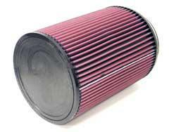 K&N Universalluftfilter, 152mm Flansch  Rund Zylindrisch, 190x190 254lg