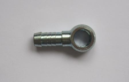 Stahl-Ringstück 10mm Schlauch  Bohrung 12mm Durchmesser