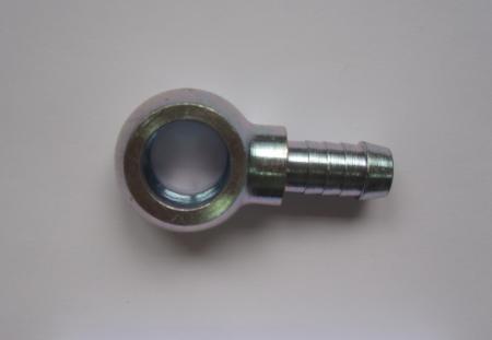 Stahl-Ringstück 12,7mm Schlauch  Bohrung 18mm Durchmesser