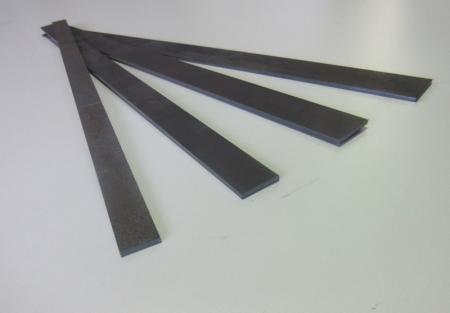Flachstahl 40x3mm 500lang  Hardox400 gelasert