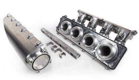 Turbo Luftsammler Ford Ecoboost 180°  - Drosselklappe Schwungradseitig
