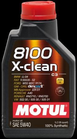 Motorenöl Motul 8100 X-clean 5W40