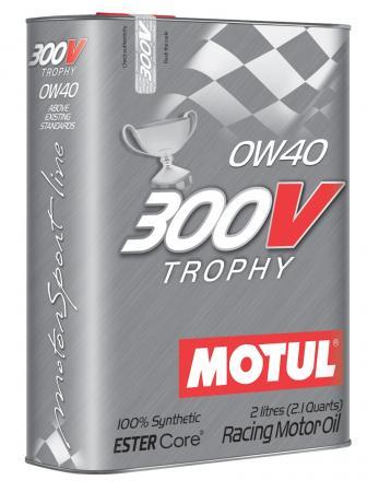 Motorenöl Motul 300V Trophy 0W40 Vollsynsthetisch 2 ltr. Dose