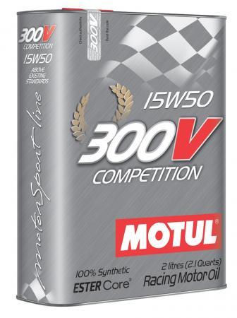 Motorenöl Motul 300V Competition 15W50 Vollsynsthetisch 2 ltr. Dose
