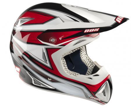Cross-Helm NOX Defender - rot  Helmgröße: 60-61cm (Gr.XL)