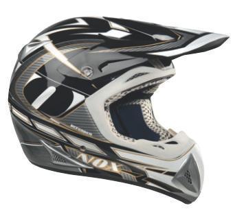 Cross-Helm NOX Defender  schwarz-carbon Gr.XL (61/62)