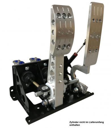 Pedal Box Pro EV Elektrofahrzeuge Automatikfahrzeuge  mit Wagebalken stehend Bulkhead Fit