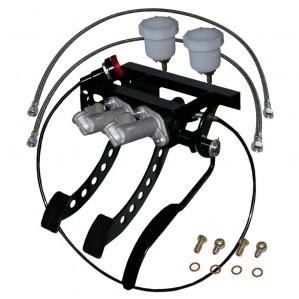 Classic Mini Pedalbox hängend für Seilzugkupplung