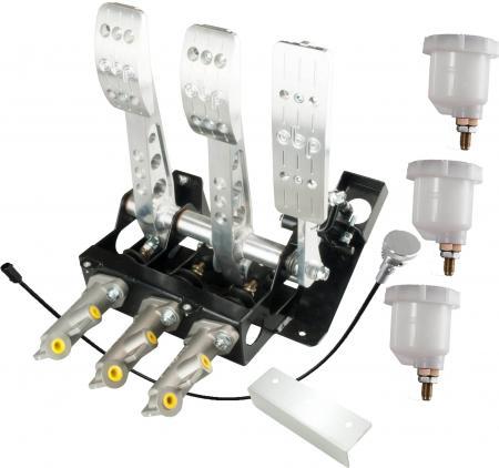 OBP Track Pro V2 Pedalbox OBP0331  mit Waagebalken Set inc. Zylindern
