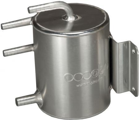 OBP Aluminium Catchtank 1 ltr. unpoliert  4 Anschlüsse