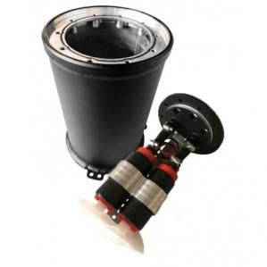 Catchtank mit zwei Pumpen (680 l/h)  2 Liter OBP