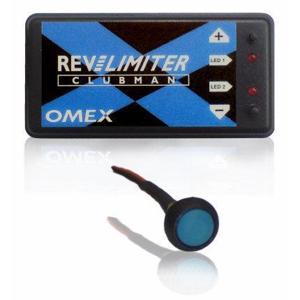 Omex Drehzahlbegrenzer Clubman mit Launch-Control-System  für Doppelzündung