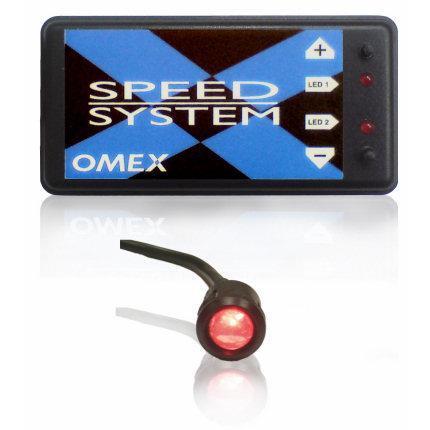 Omex Speed System Drehzahlbegrenzer mit Schaltlampe  für Doppelzündung