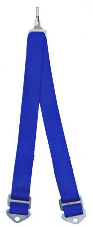 Beltenick® 6-Punkt Schrittgurt Gurt NASCAR blau