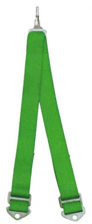 Beltenick® 6-Punkt Schrittgurt Gurt NASCAR  grün