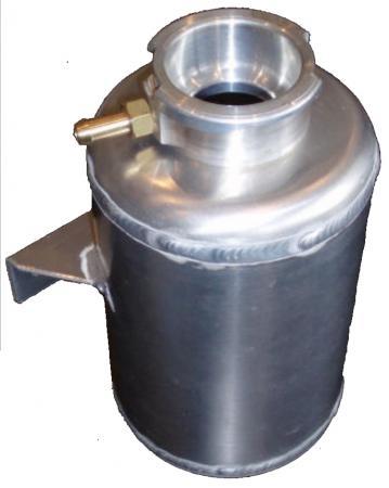 Kühler Ausgleichsbehälter  rund Aluminium