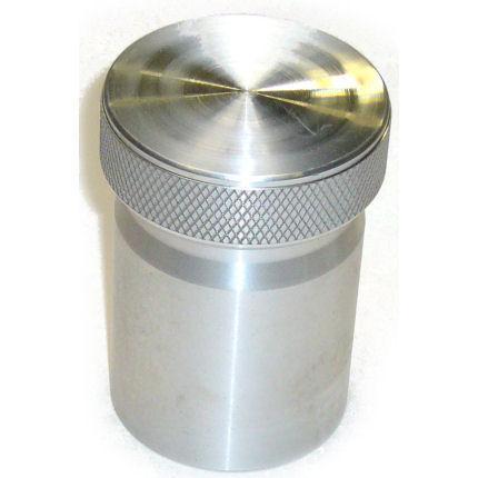 Tankstutzen mit Kappe 47mm ID  Aluminium