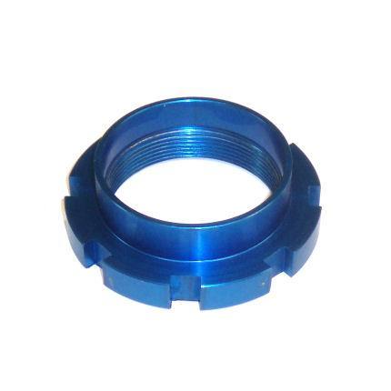 Federteller Gewinde 25mm führung.  passend für 57mm / 60mm Rennsportfedern