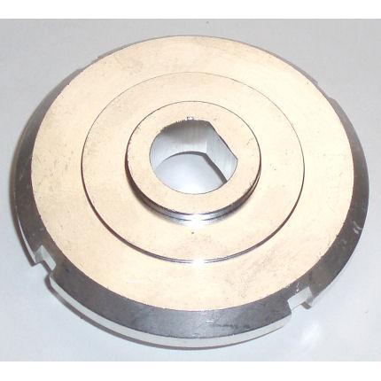 Federteller oben D-shape  passend für 57mm / 60mm Rennsportfedern