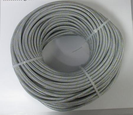 Benzinschlauch, Kraftstoffschlauch ID 6mm / 5,5mm  Ummantelung Stahl verzinkt 100m am Stück