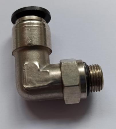 Verbinder 90 Grad (Düsenanschluss)  für RS Löschanlage für 8mm