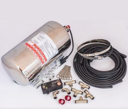 Feuerlöschanlage 4,25 ltr.  Elektrische Auslösung, Alubehälter FIA