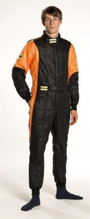Rennoverall Beltenick® Stratos -  Overallgrösse: Gr. M (48-50), Overallfarbe: schwarz-orange