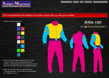 Rennoverall Beltenick® RSN500A  Custom Design
