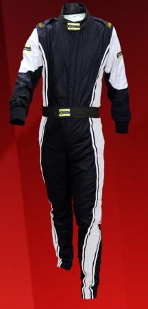 Rennoverall Beltenick® Driver II FIA8856-2018   Gr. XSW (Damen XS), schwarz-silber
