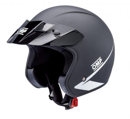 OMP Jethelm Star neues Modell schwarz  XXL (61)