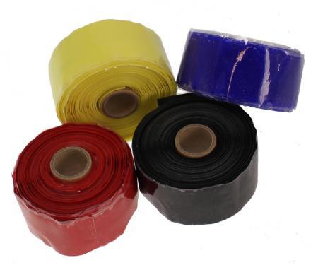 Samco Silikonband gelb  30mm breit, länge 5m