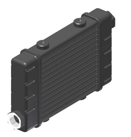 Ölkühler Setrab Slim-Line  SLM-Breite: Netzbreite 141mm, SLM-Reihen: 14-Reihen