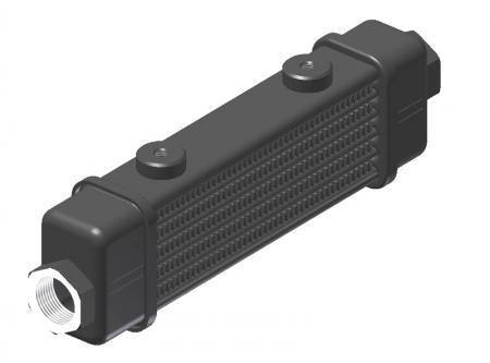 Ölkühler Setrab Slim-Line  SLM-Breite: Netzbreite 141mm, SLM-Reihen: 6-Reihen