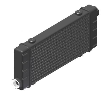 Ölkühler Setrab Slim-Line  SLM-Breite: Netzbreite 250mm, SLM-Reihen: 14-Reihen