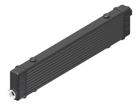Ölkühler Setrab Slim-Line  SLM-Breite: Netzbreite 420mm, SLM-Reihen: 10-Reihen