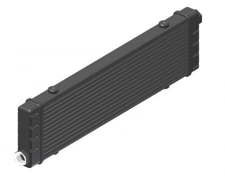 Ölkühler Setrab Slim-Line  SLM-Breite: Netzbreite 420mm, SLM-Reihen: 14-Reihen