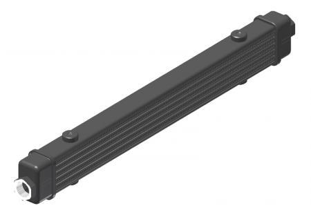 Ölkühler Setrab Slim-Line  SLM-Breite: Netzbreite 420mm, SLM-Reihen: 6-Reihen