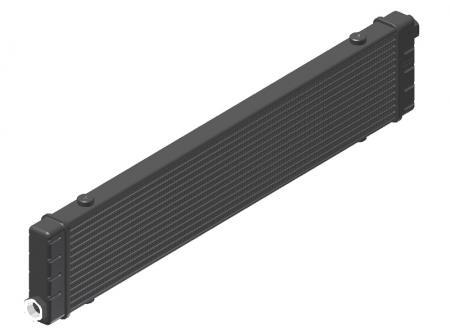 Ölkühler Setrab Slim-Line  SLM-Breite: Netzbreite 592mm, SLM-Reihen: 14-Reihen
