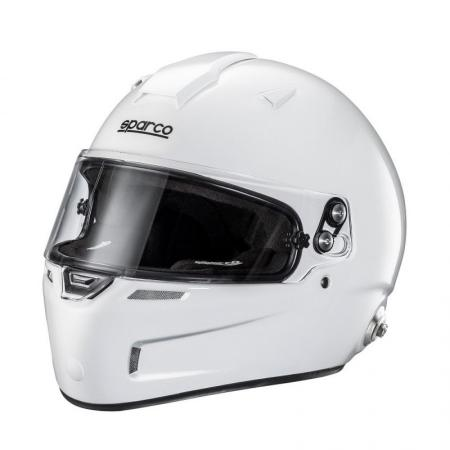 Sparco Helm AIR PRO RF-5W  Gr.S, weiss mit HANS Clips