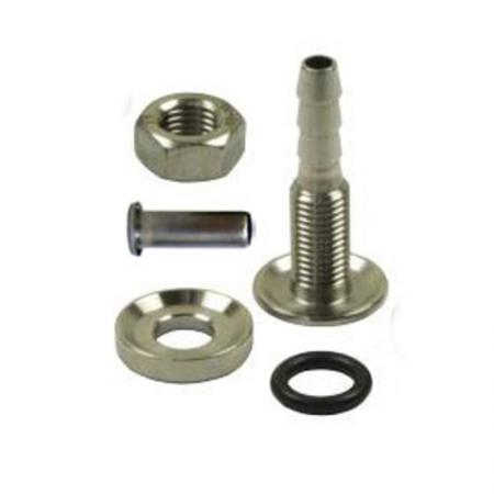 Schlauchabgang mit Stutzen  Schlauchabgang: 5mm