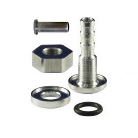 Schlauchabgang mit Stutzen  Schlauchabgang: 8mm