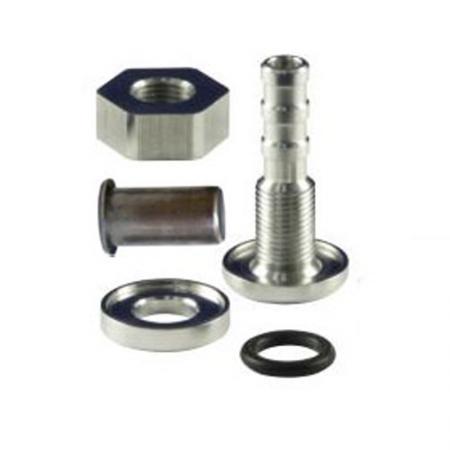 Schlauchabgang mit Stutzen  Schlauchabgang: 10mm