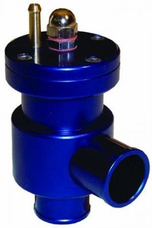 Dump Valve Sytec 0,5-3 bar Kolbenventil geschlossen   - Anschlussdurchmesser 25mm blau