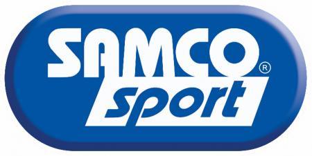 Samco Ford Sierra Cosworth 2WD 86-90  3-teiliges Ladeluftsystem blau