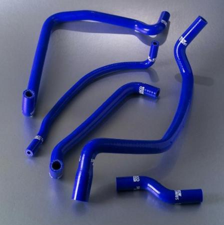 Samco Ford Sierra Cosworth 2WD 86-90  5-teiliges Kühlwasser-Schlauchkit blau