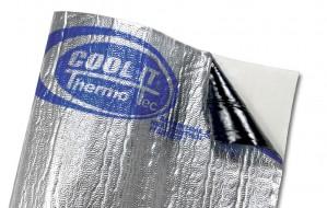 Cool It Aluminium-Dämm und Hitzeschutz-Matte 91,44cm x 10,21m (1 Stück) - Suppressor Matte