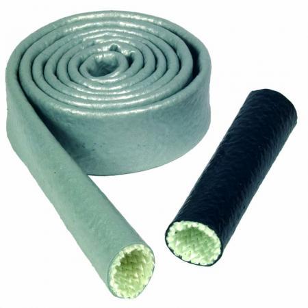 Cool It Thermo Tec Silikon/Fiberglas-Hitzeummantelung   Durchm. 12,7mm x  3m Länge  silber