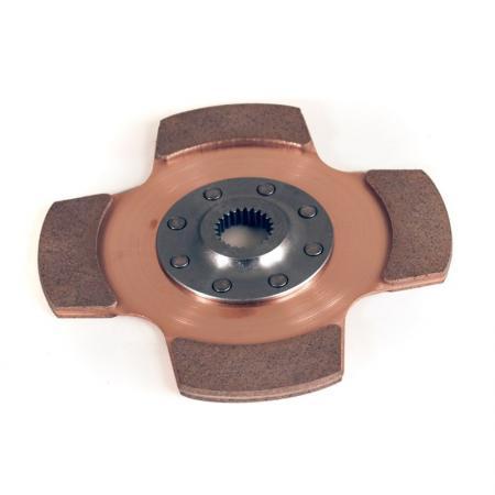 Tilton 4-pad Cerametal Mitnehmehmerscheibe  184mm Verzahnung 13/16x24 (20,6x24Z )