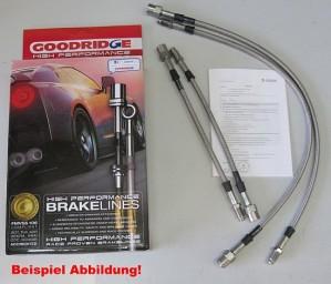 HD Bremsschlauchsatz Porsche 924 Turbo 4-teilig mit Dekra Teilegutachten